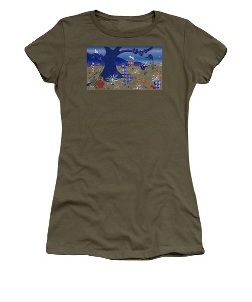 Dreamscape - Limited Edition  Of 30 Women's T-Shirt (Junior Cut) by Gabriela Delgado