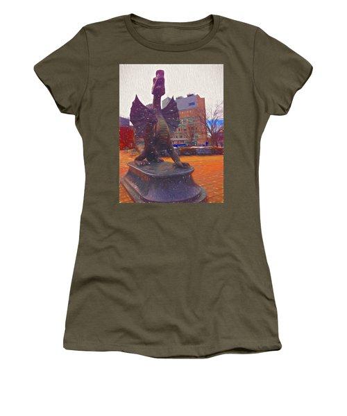 Drexel Dragon Colored Women's T-Shirt