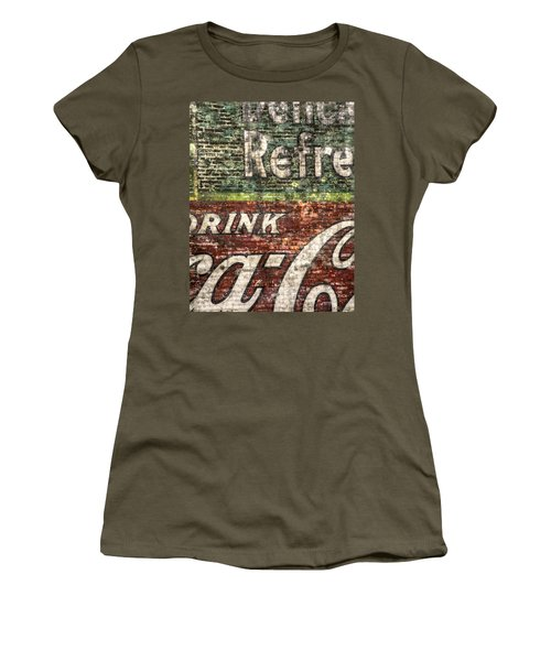 Drink Coca-cola 1 Women's T-Shirt (Athletic Fit)