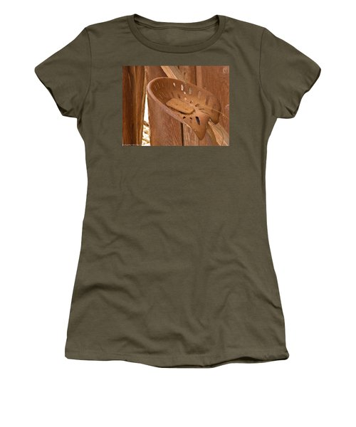 Women's T-Shirt (Junior Cut) featuring the photograph Drivers Seat by Nick Kirby