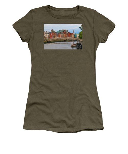 Dublin On The River Liffey Women's T-Shirt