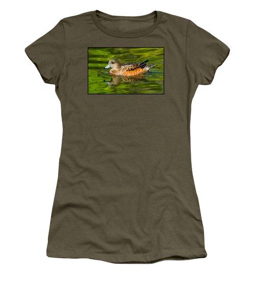 Young Female Mallard Duck Women's T-Shirt