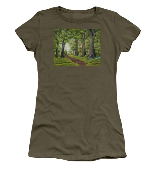 Duff House Walk Women's T-Shirt (Athletic Fit)