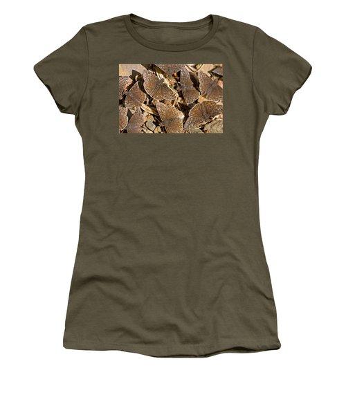 Duskywing Butterflies Women's T-Shirt (Junior Cut) by Melinda Fawver