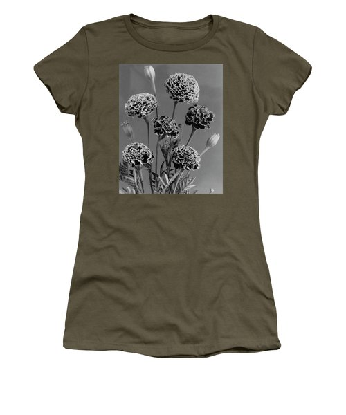 Dwarf Monarch Marigolds Women's T-Shirt