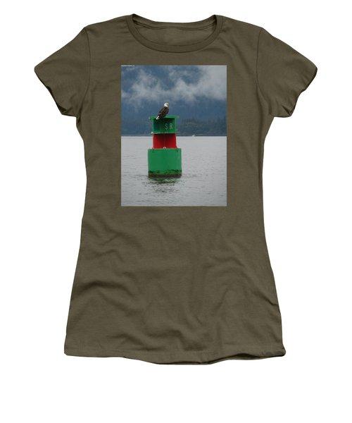 Eagle On Bouy Women's T-Shirt