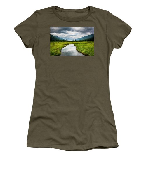 Eagle River Nature Center Women's T-Shirt (Athletic Fit)