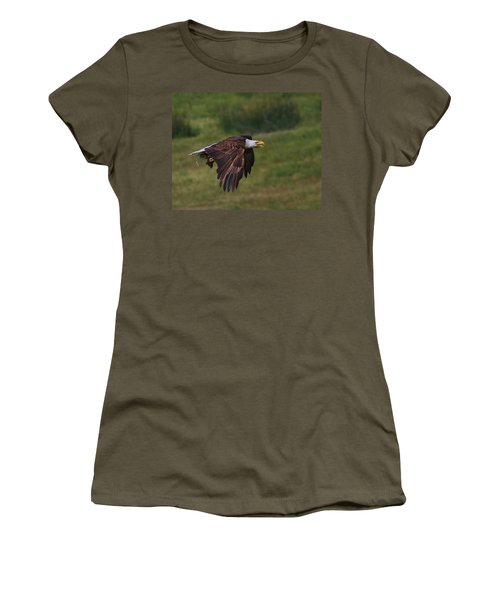 Eagle With Prey Women's T-Shirt