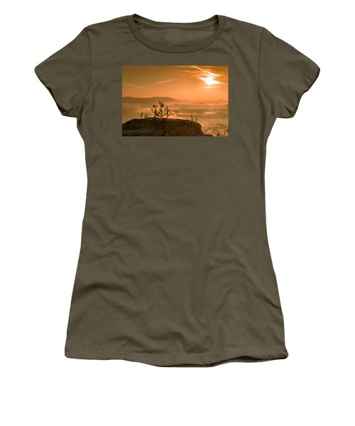 Early Morning On The Lilienstein Women's T-Shirt