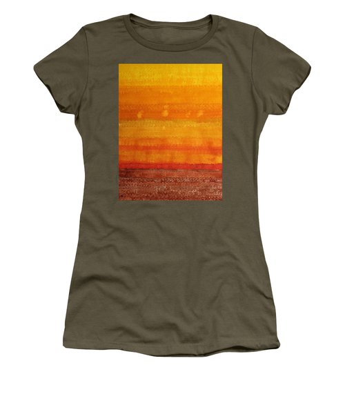 Earth And Sky Original Painting Women's T-Shirt