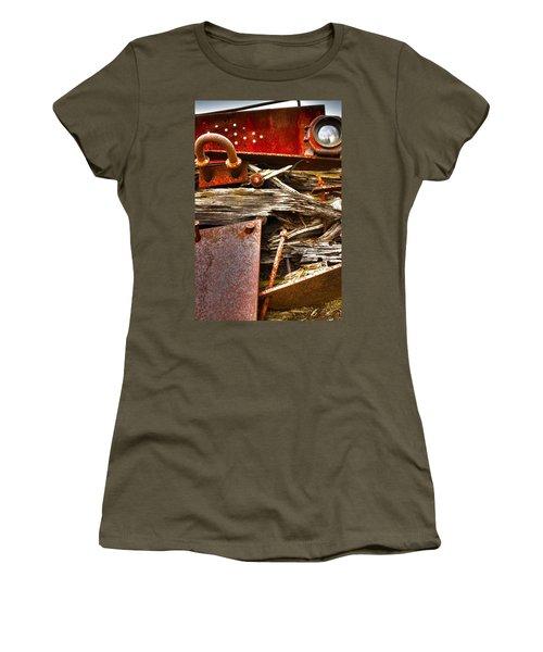 Eckley Faces Women's T-Shirt (Athletic Fit)