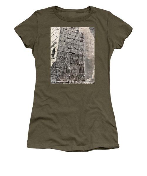 Egypt Bas Relief Women's T-Shirt