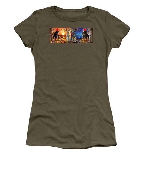 Egyptian Triptych 2 Women's T-Shirt