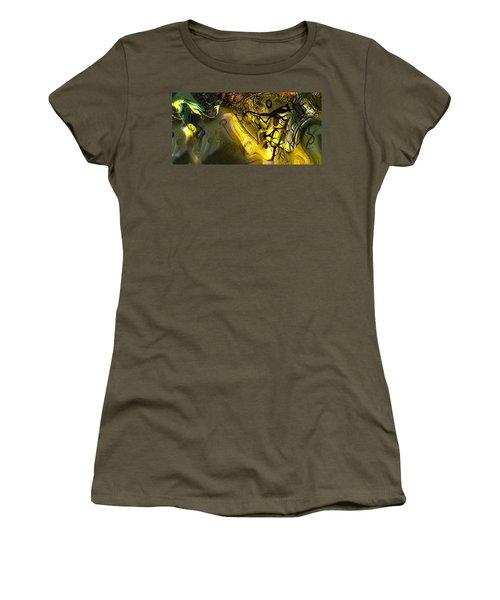 Women's T-Shirt (Junior Cut) featuring the digital art Elaboration Of Day Into Dream by Richard Thomas