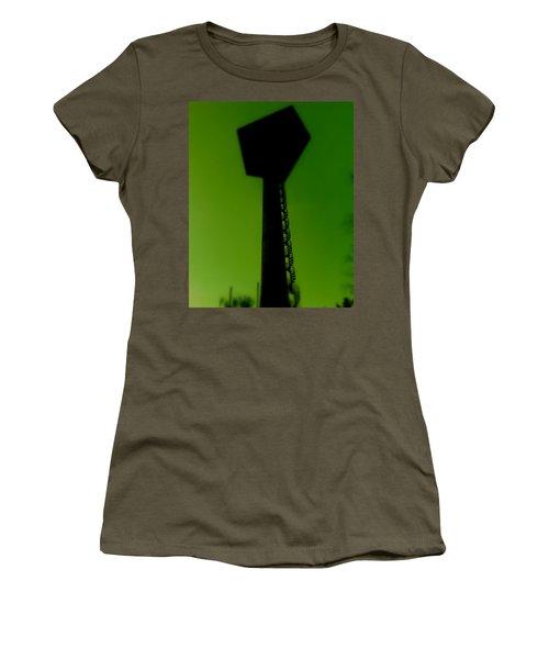 Women's T-Shirt (Junior Cut) featuring the photograph Elastic Concrete Part Four by Sir Josef - Social Critic - ART