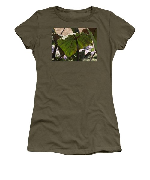 Elephant Ear Women's T-Shirt (Athletic Fit)