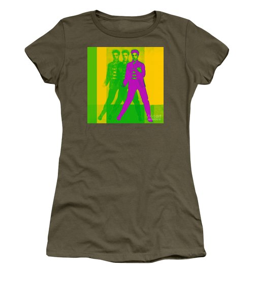Women's T-Shirt featuring the photograph Elvis Three 20130215 by Wingsdomain Art and Photography