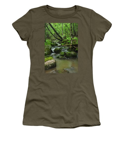 Emerald Forest Women's T-Shirt (Athletic Fit)