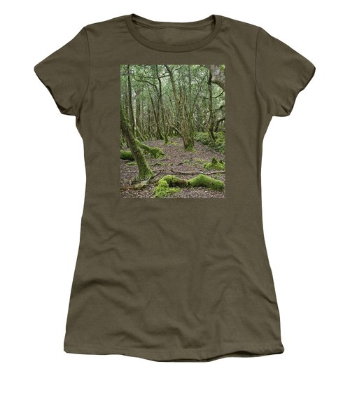 Women's T-Shirt (Junior Cut) featuring the photograph Enchanted Forest by Hugh Smith