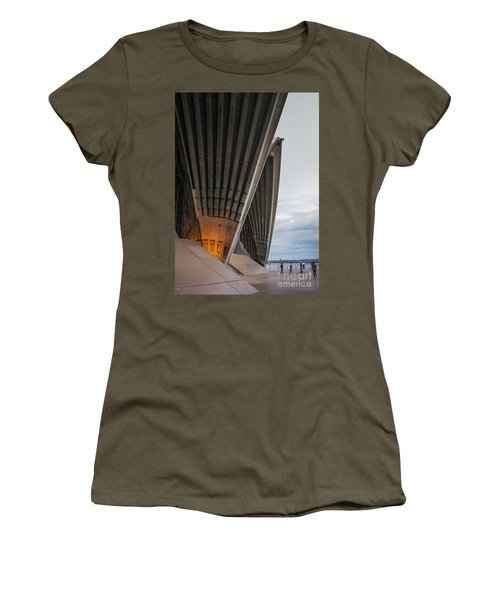 Entrance To Opera House In Sydney Women's T-Shirt