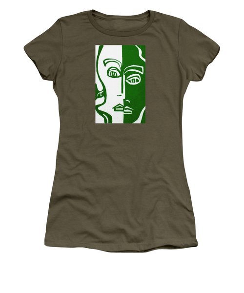 Women's T-Shirt (Junior Cut) featuring the painting Envy by Donna Tucker