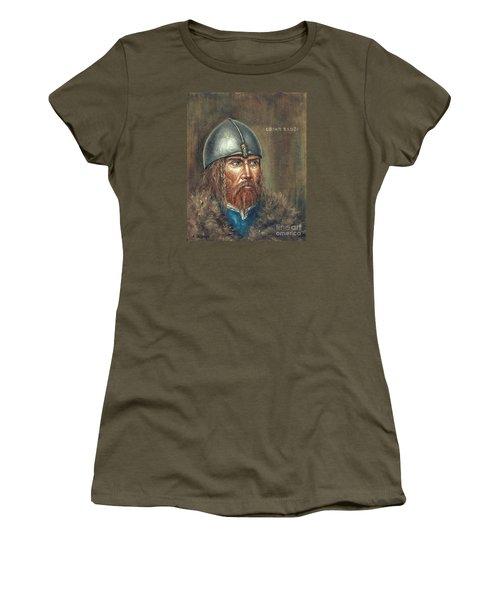 Erick The Red Women's T-Shirt (Junior Cut) by Arturas Slapsys