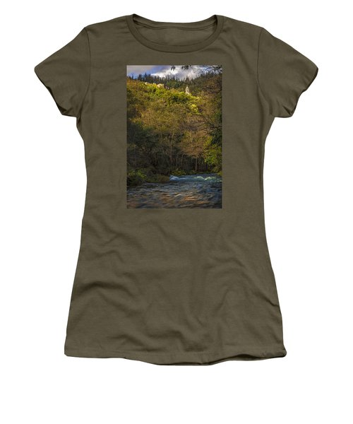 Eume River Galicia Spain Women's T-Shirt