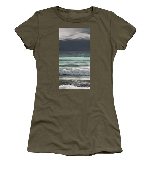 Even Tides Women's T-Shirt (Athletic Fit)
