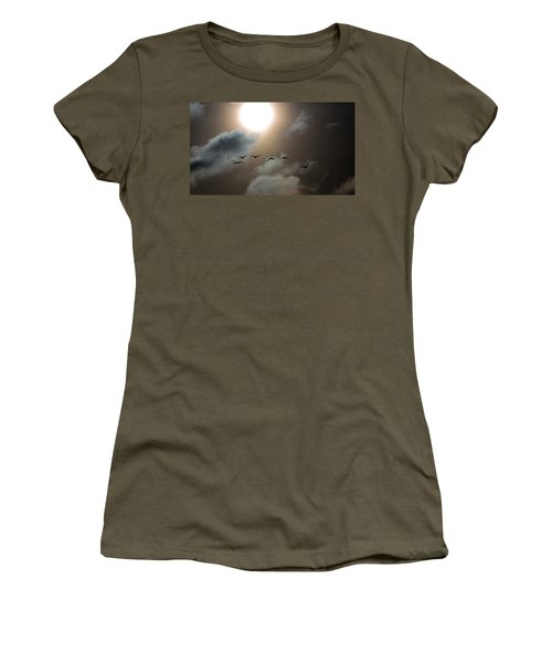 Evening Flight Women's T-Shirt (Athletic Fit)