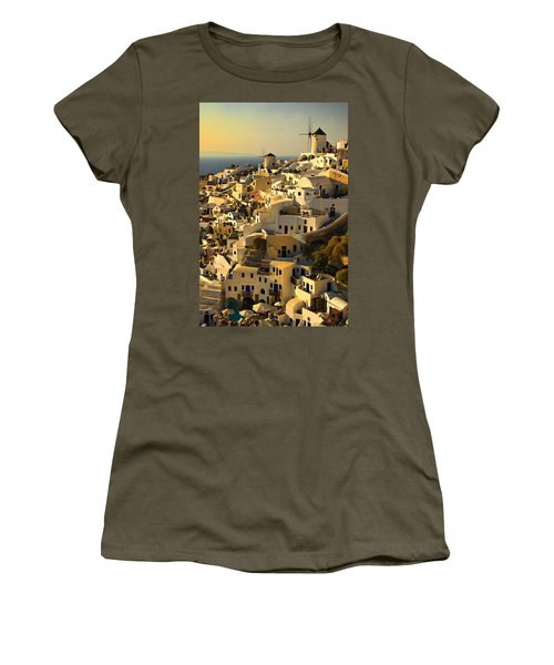 evening in Oia Women's T-Shirt