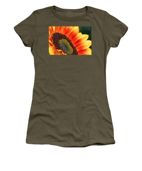 Evening Sun Sunflower Women's T-Shirt (Athletic Fit)