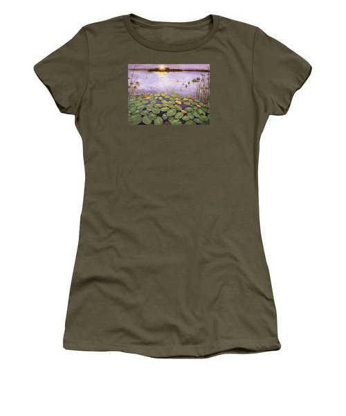 Everglades Evening Women's T-Shirt (Athletic Fit)