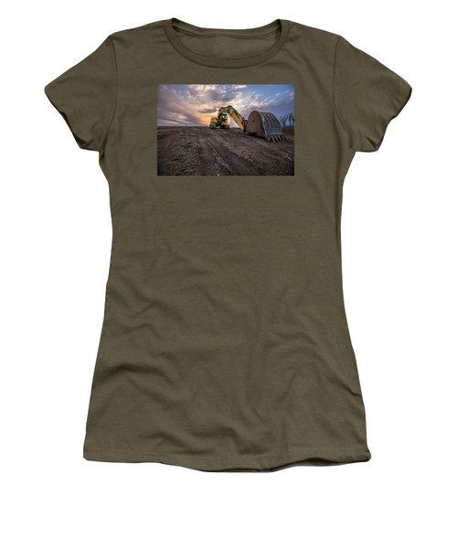 Excavator Women's T-Shirt