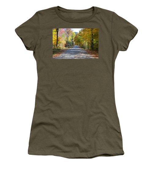 Fall Backroad Women's T-Shirt