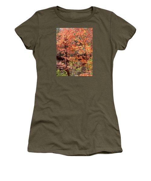 Fall Colors 6335 Women's T-Shirt (Junior Cut) by En-Chuen Soo