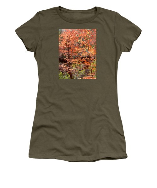Fall Colors 6335 Women's T-Shirt (Athletic Fit)