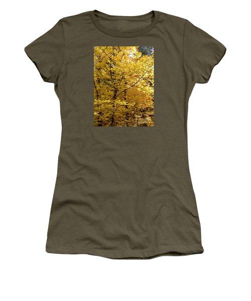 Fall Colors 6371 Women's T-Shirt (Junior Cut) by En-Chuen Soo