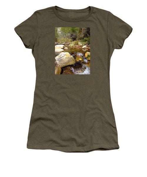 Fall Colors 6390 Women's T-Shirt (Junior Cut) by En-Chuen Soo