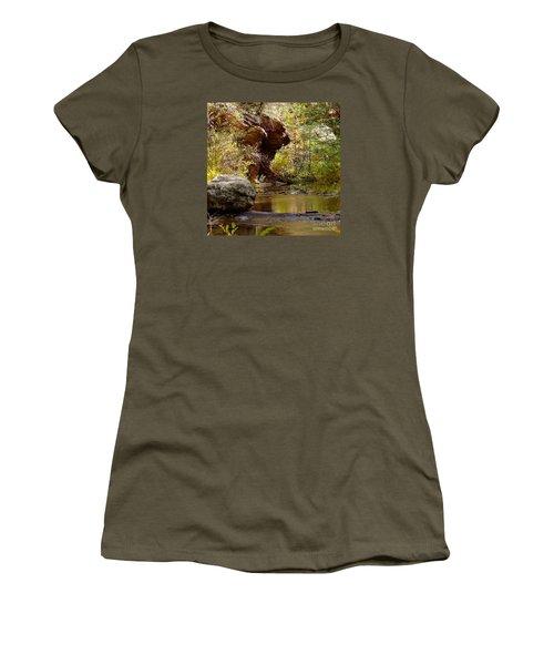 Fall Colors 6472-02 Women's T-Shirt (Junior Cut) by En-Chuen Soo