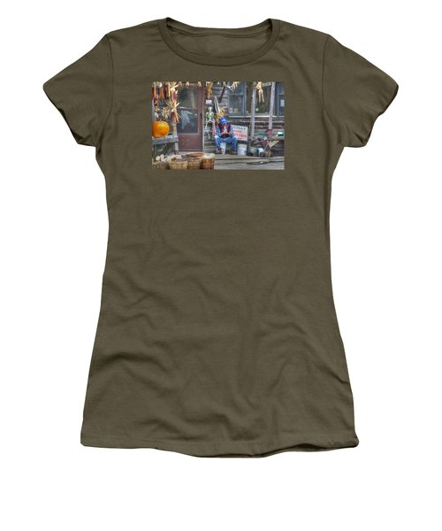 Fall Farmer's Market Women's T-Shirt