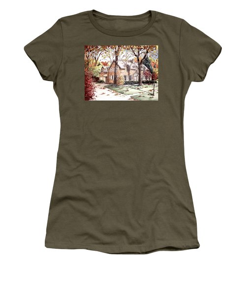 Fall Home Portriat Women's T-Shirt
