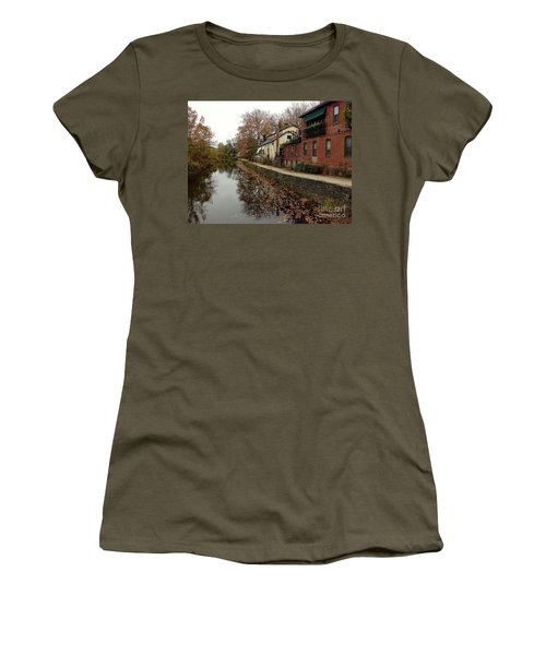 Fall On The Canal Women's T-Shirt