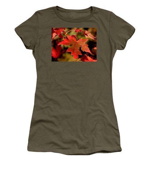 Fall Red Beauty Women's T-Shirt