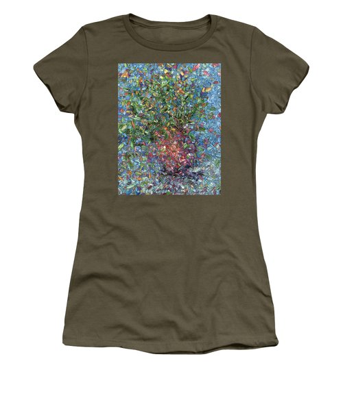Falling Flowers Women's T-Shirt