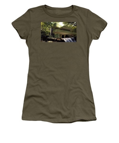 Fallingwaters Women's T-Shirt (Athletic Fit)