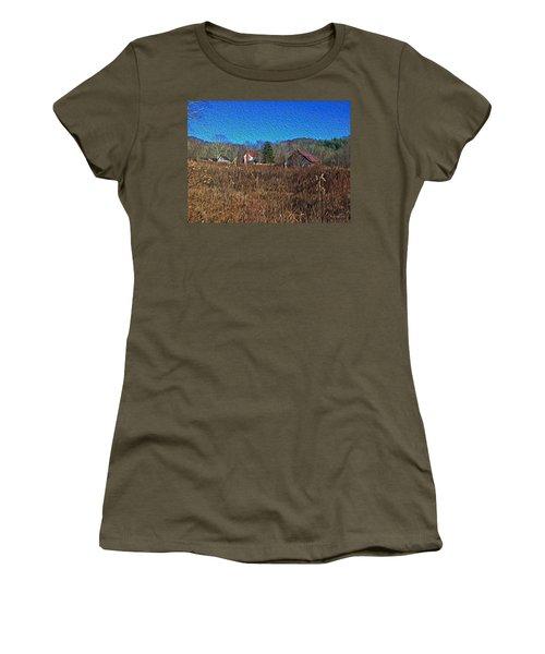 Farm House 2 Women's T-Shirt (Athletic Fit)