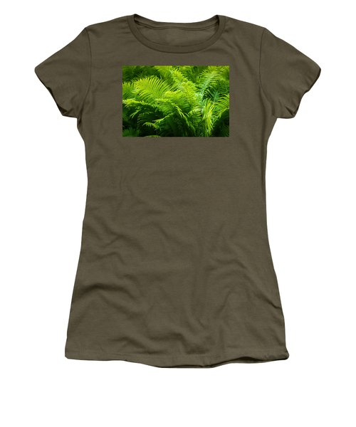 Ferns 1 Women's T-Shirt (Junior Cut) by Alexander Senin