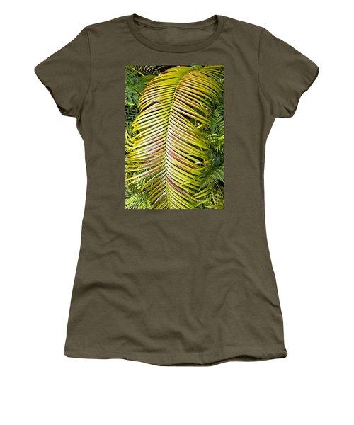 Women's T-Shirt (Junior Cut) featuring the photograph Ferns by Kate Brown