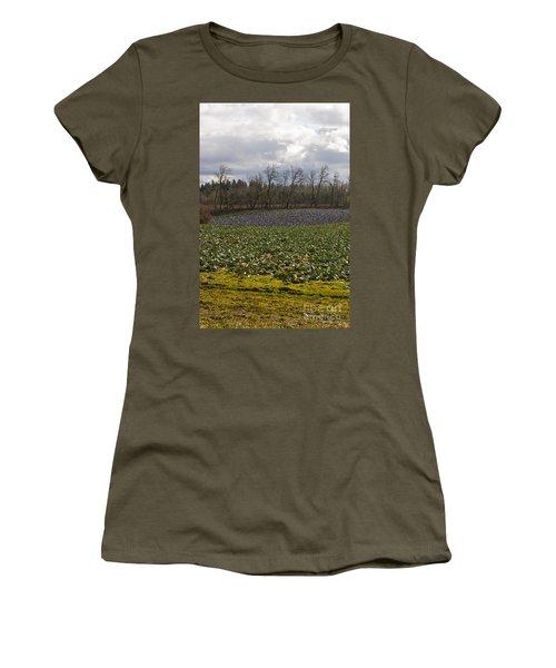 Field Of Color 2 Women's T-Shirt (Junior Cut) by Belinda Greb