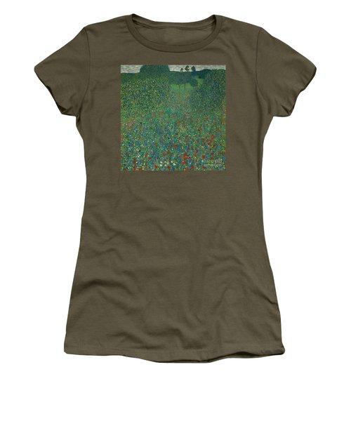 Field Of Poppies Women's T-Shirt